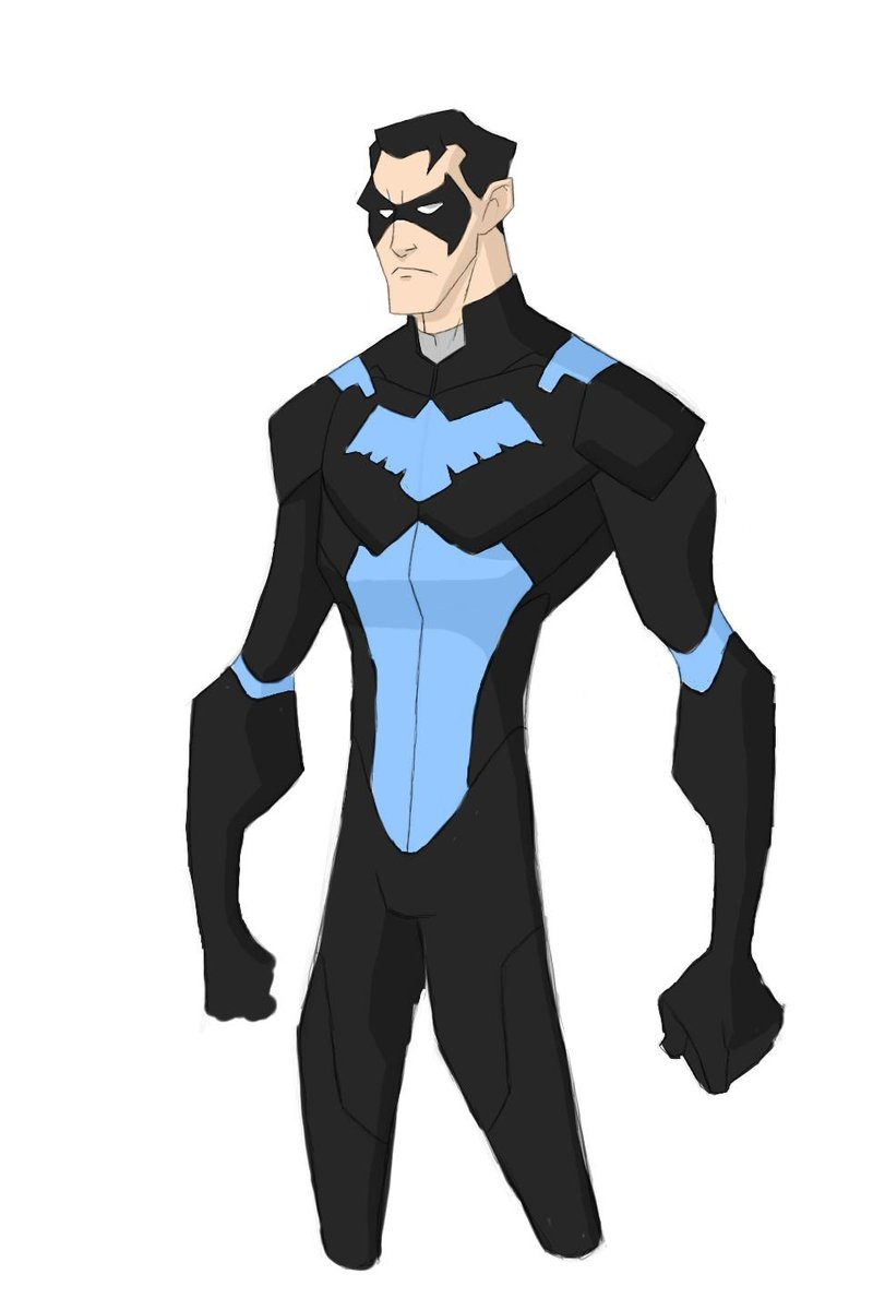 Young Justice 2020 Series Nightwing by RidiculousRob 800x1200