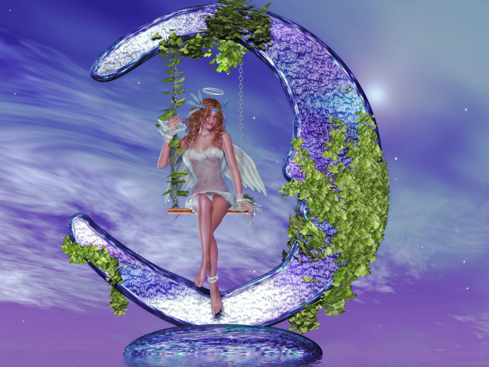 water fairy wallpaper beautiful - photo #34