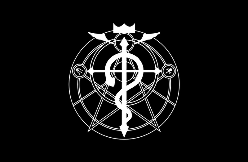 Group Of Fullmetal Alchemist Logo For