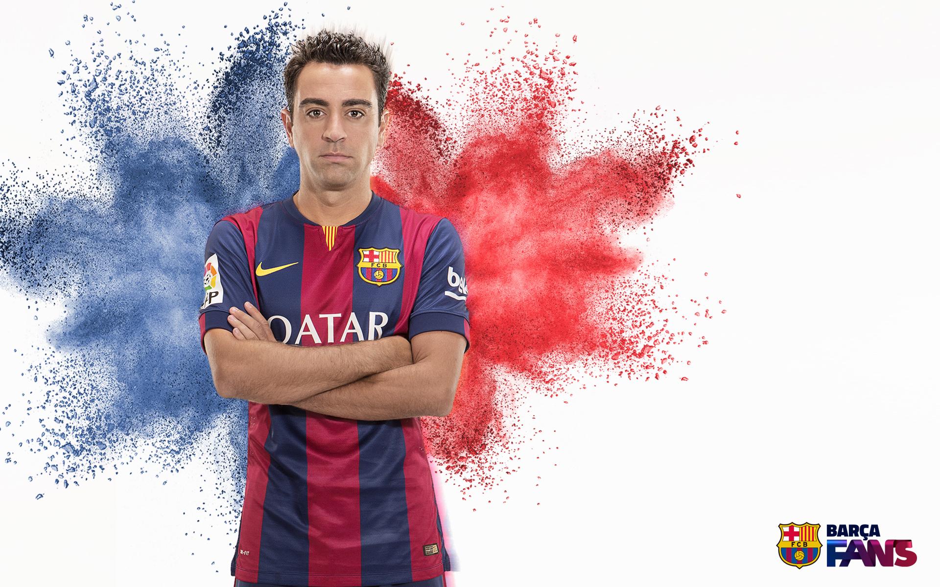 Xavi Hernndez   Wallpaper FC Barcelona 1920x1200