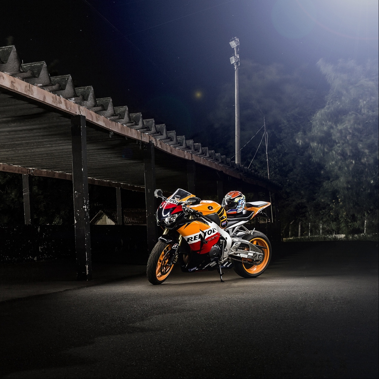 Download wallpaper 1280x1280 honda cbr1000rr repsol motorcycle 1280x1280