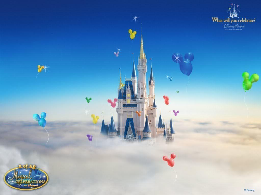 Disney Castle Backgrounds 1024x768