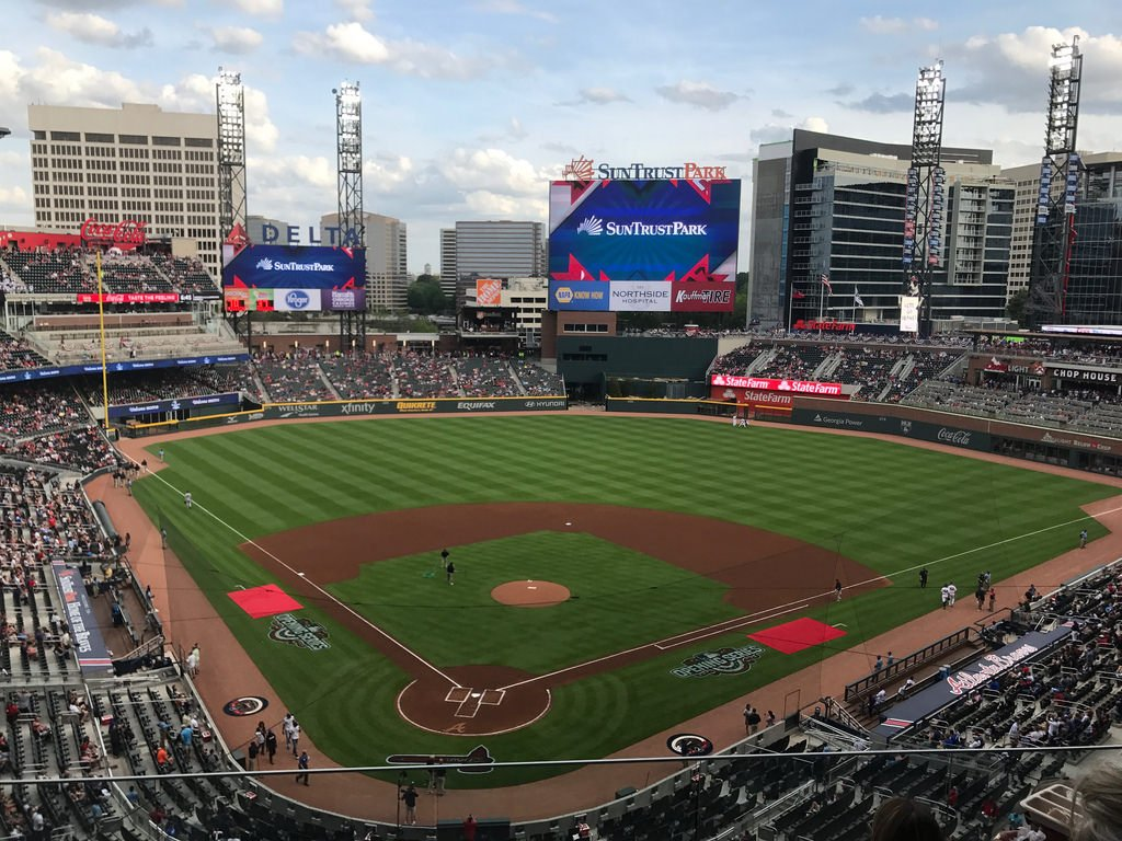 Truist Park   pictures information and more of the Atlanta Braves 1024x768