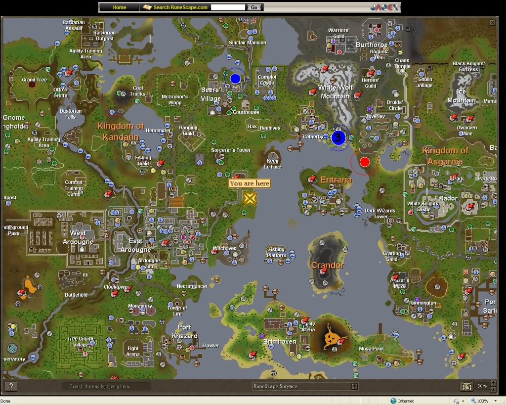 Free download Pin Runescape Classic Map [1024x819] for your Desktop