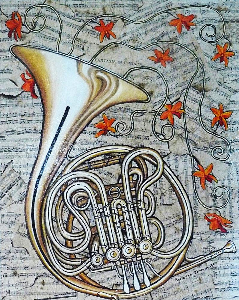 798x1001px French Horn Wallpaper - WallpaperSafari