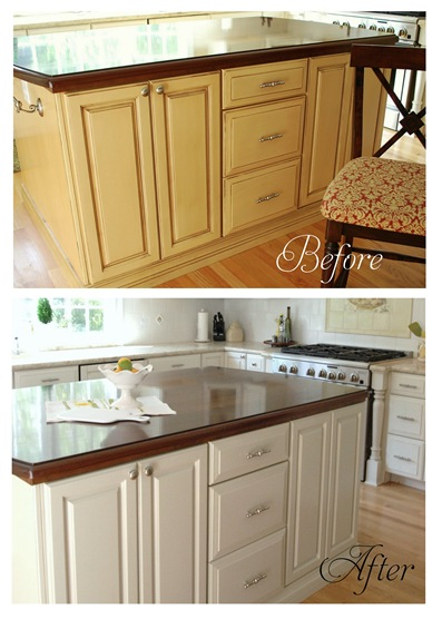 New Kitchen Cabinets Before After painting laminate bathroom cabinets before and after | bedroom and