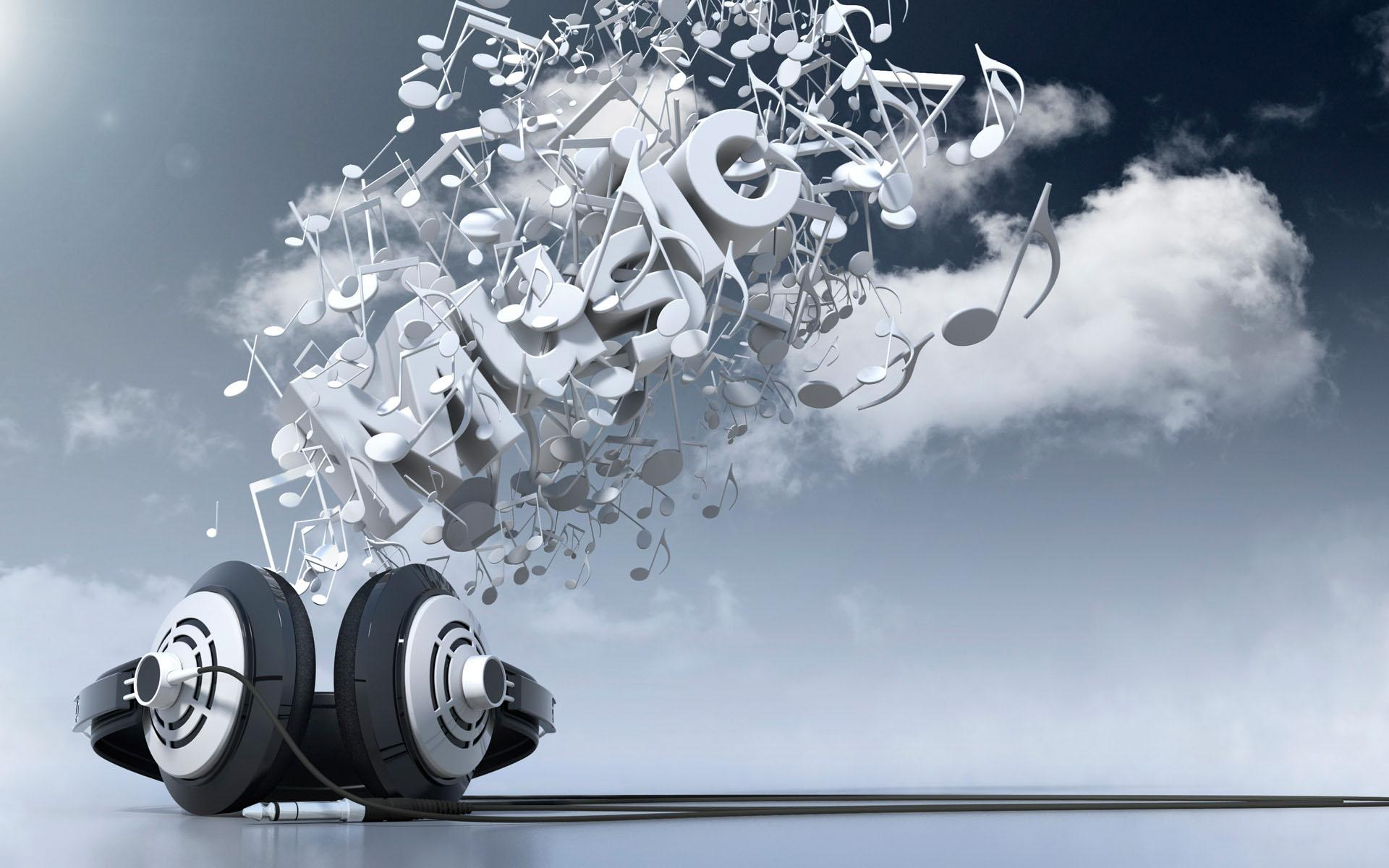 Download Abstract Music Background 1920x1200