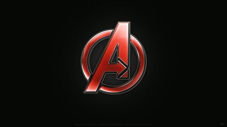 Avengers logo designdigital painting photoshop wallpaper downlaod 4k 736x414