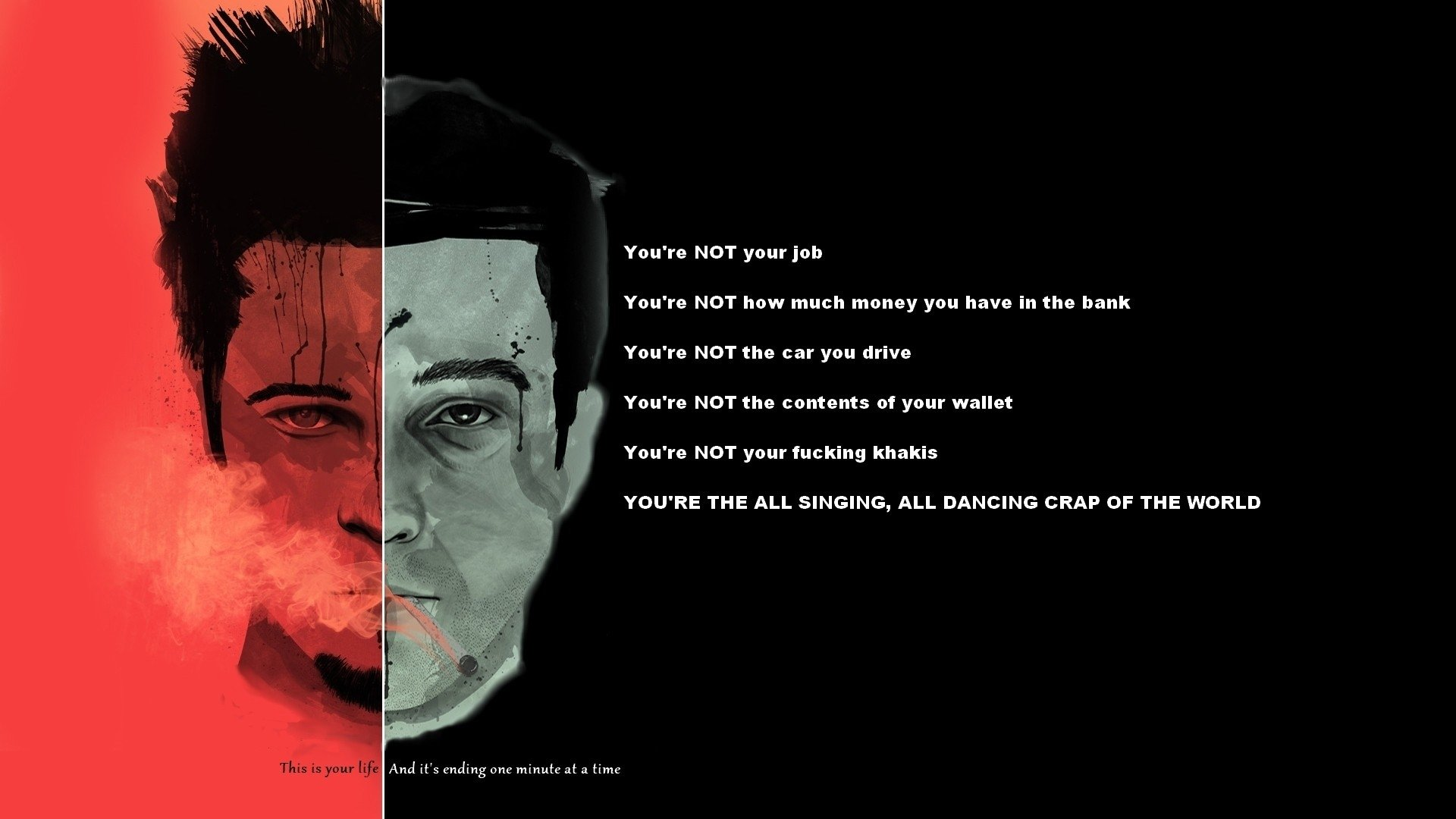 Fight Club Full HD Wallpaper and Background 1920x1080 1920x1080