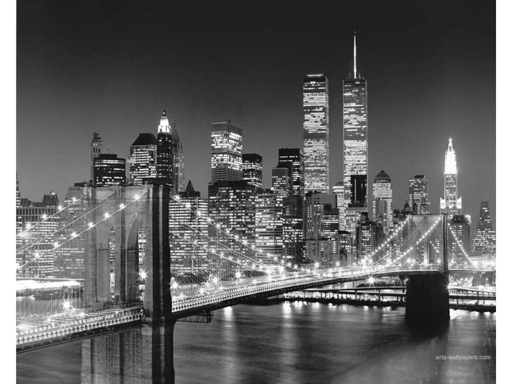 New York City Black And White Desktop Wallpaper Wallpaper Desktop 1024x768
