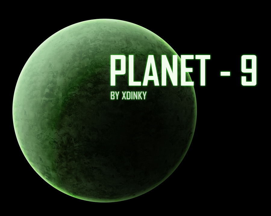 wallpaper Planet 9 by XDinky 900x720