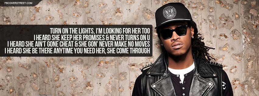 Future Rapper Wallpaper Future turn on the lights 851x315