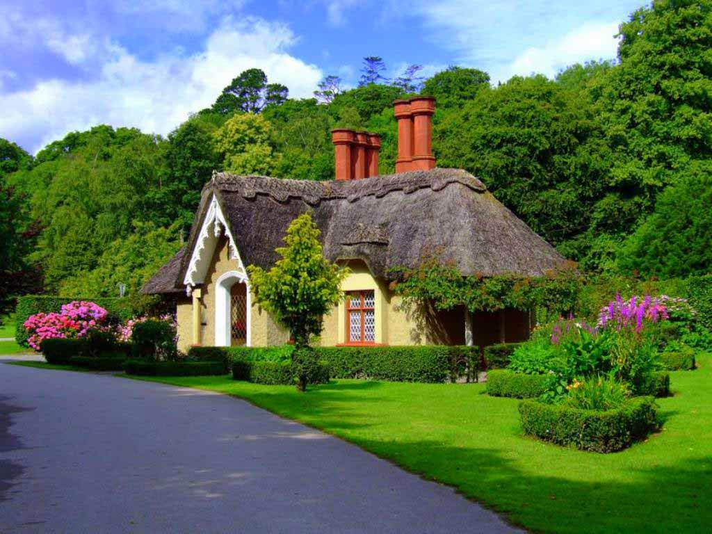 English Cottage Wallpapers 1024x768