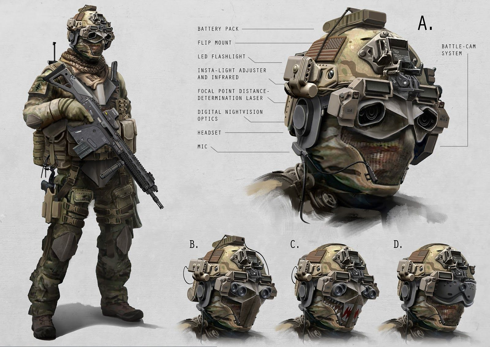special ops gear Artist Alex Jessup has come up with some pretty 1600x1132