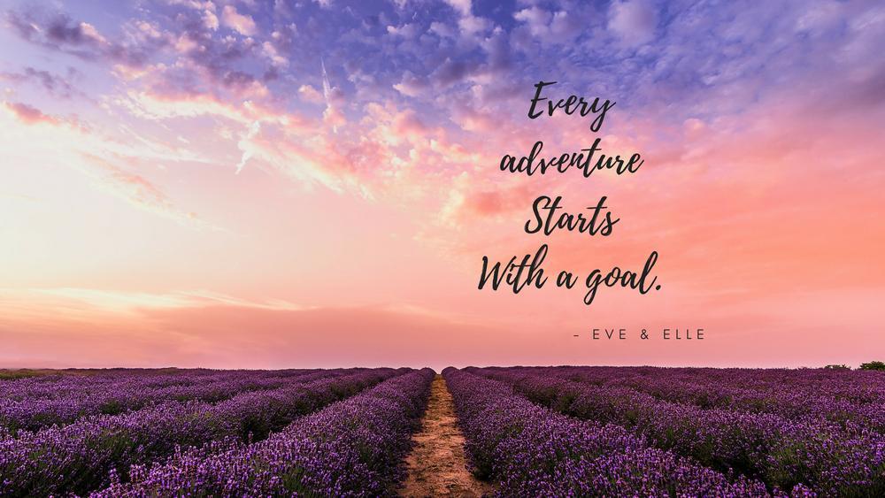 FREE Motivational Wallpaper Desktop   Every Adventure Starts With 1000x563