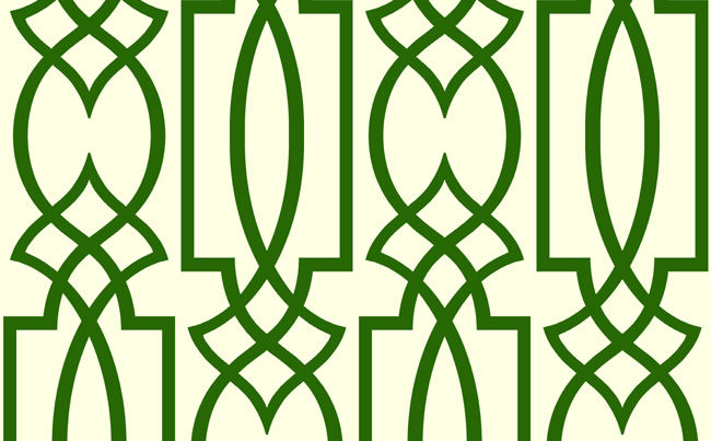 Lizettes Retro Grill Lattice Wallpaper [RTO 63054] Designer 650x403