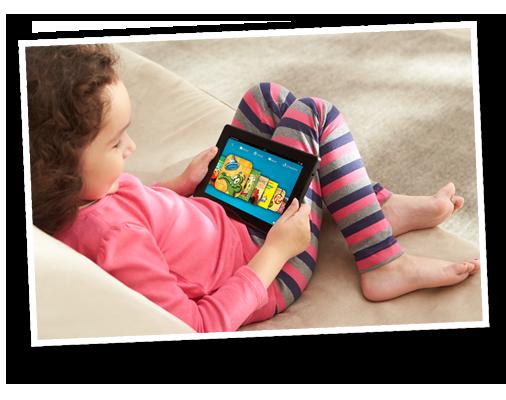 Kindle Fire HD and Kindle FreeTime 506x400