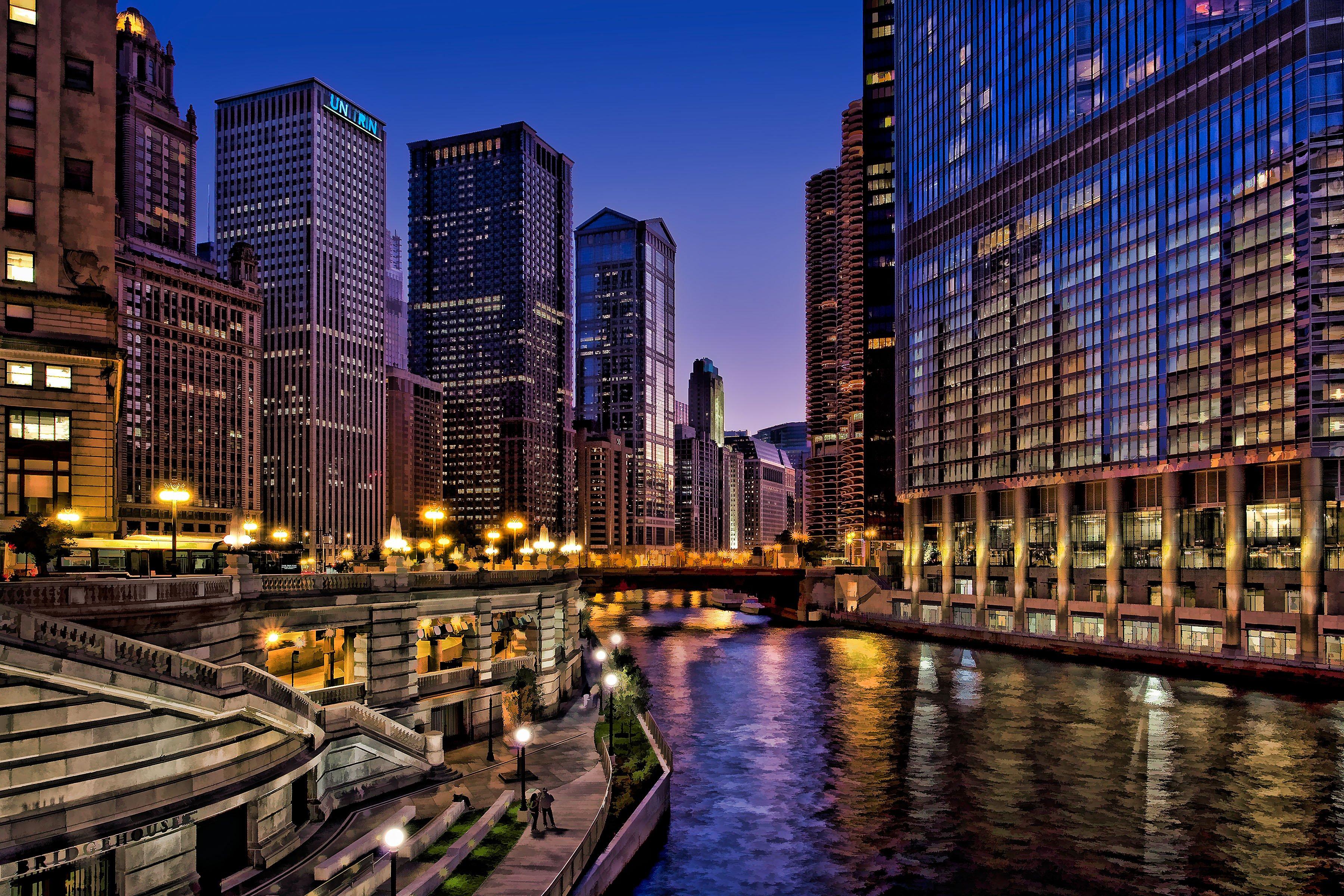 City of Chicago Wallpaper - WallpaperSafari