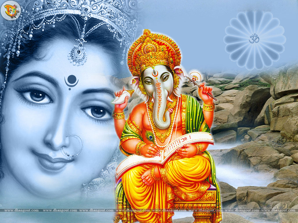 hindu gods wallpapers hindu god wallpaper posted blogger sarswati 1024x768