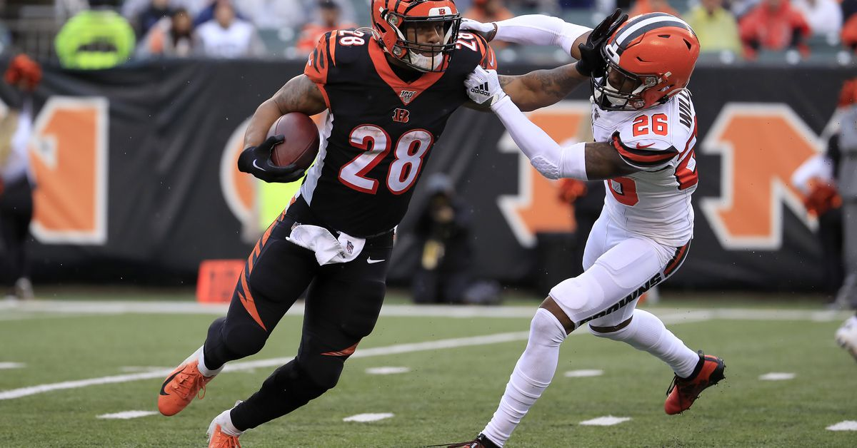 Zac Taylor on Joe Mixon vs Browns He was on a mission   Cincy 1200x628