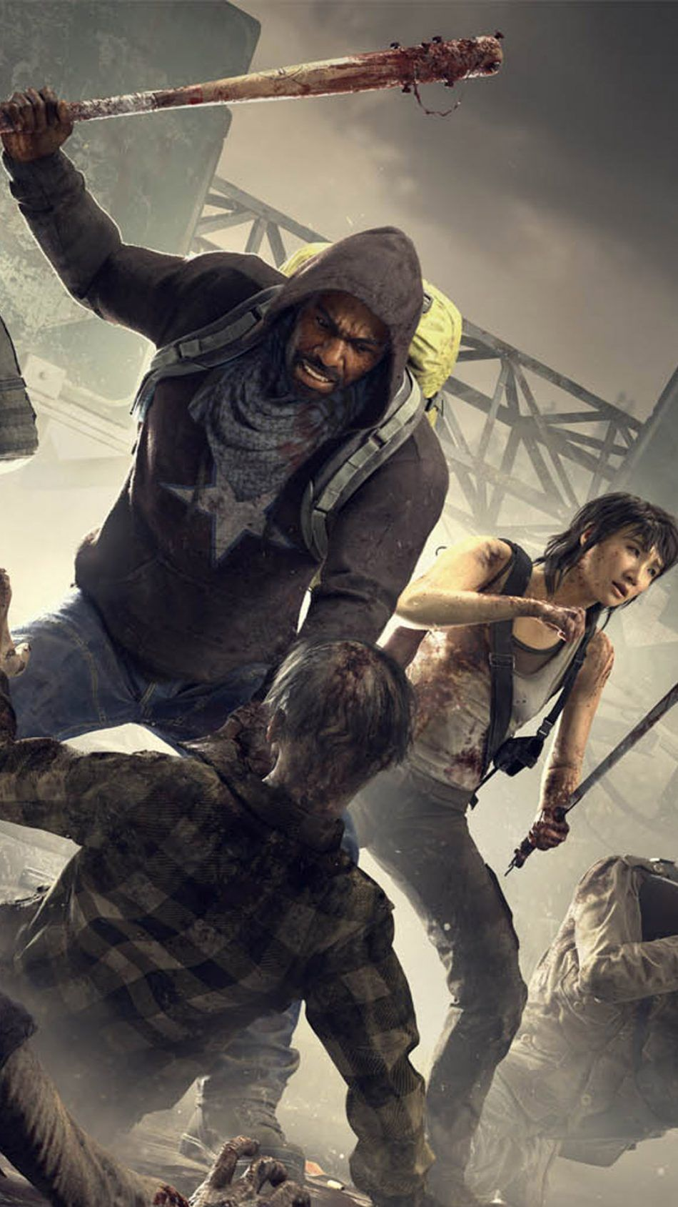 Overkills The Walking Dead Video Game Wallpapers The Walking 950x1689