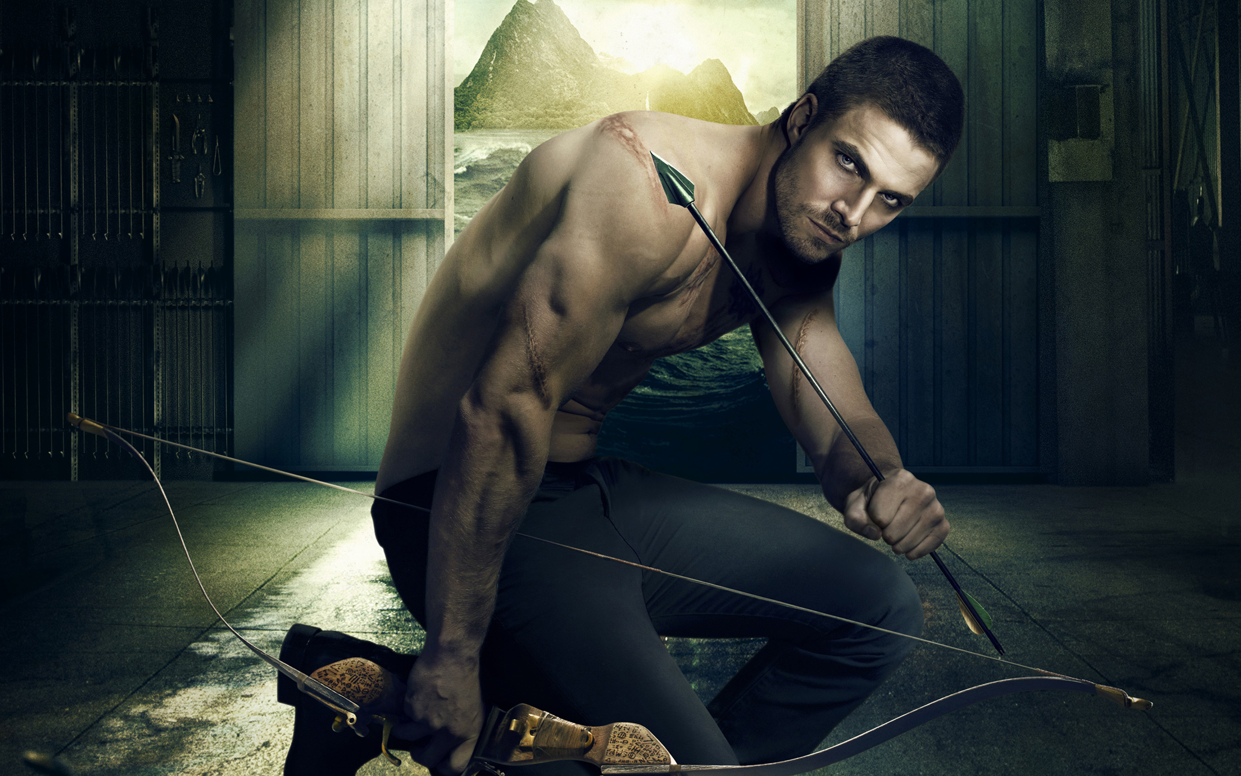 Oliver Queen Green Arrow Wallpapers HD Wallpapers 2560x1600