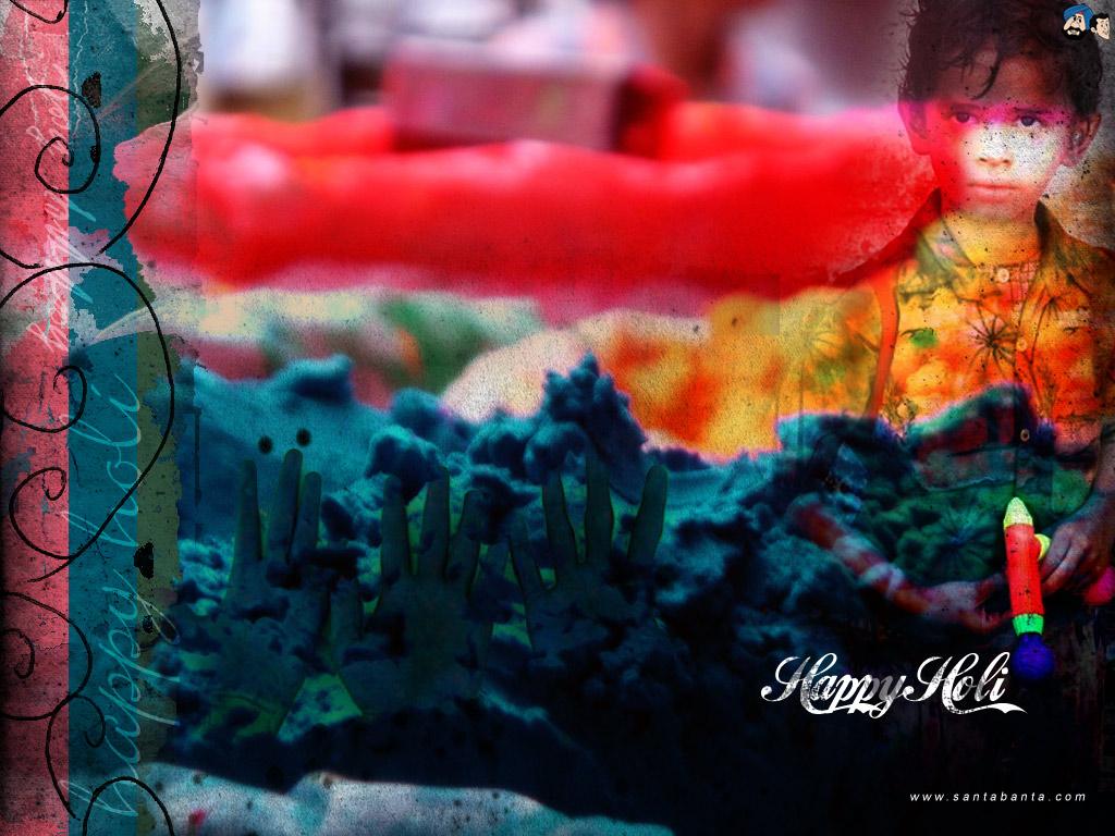 Download Latest HD Holi Wallpaper Webgranth 1024x768
