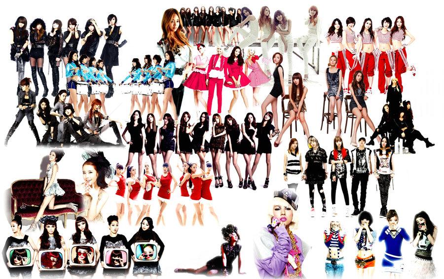 KPOP Girl Power Wallpaper by tplt95 900x566