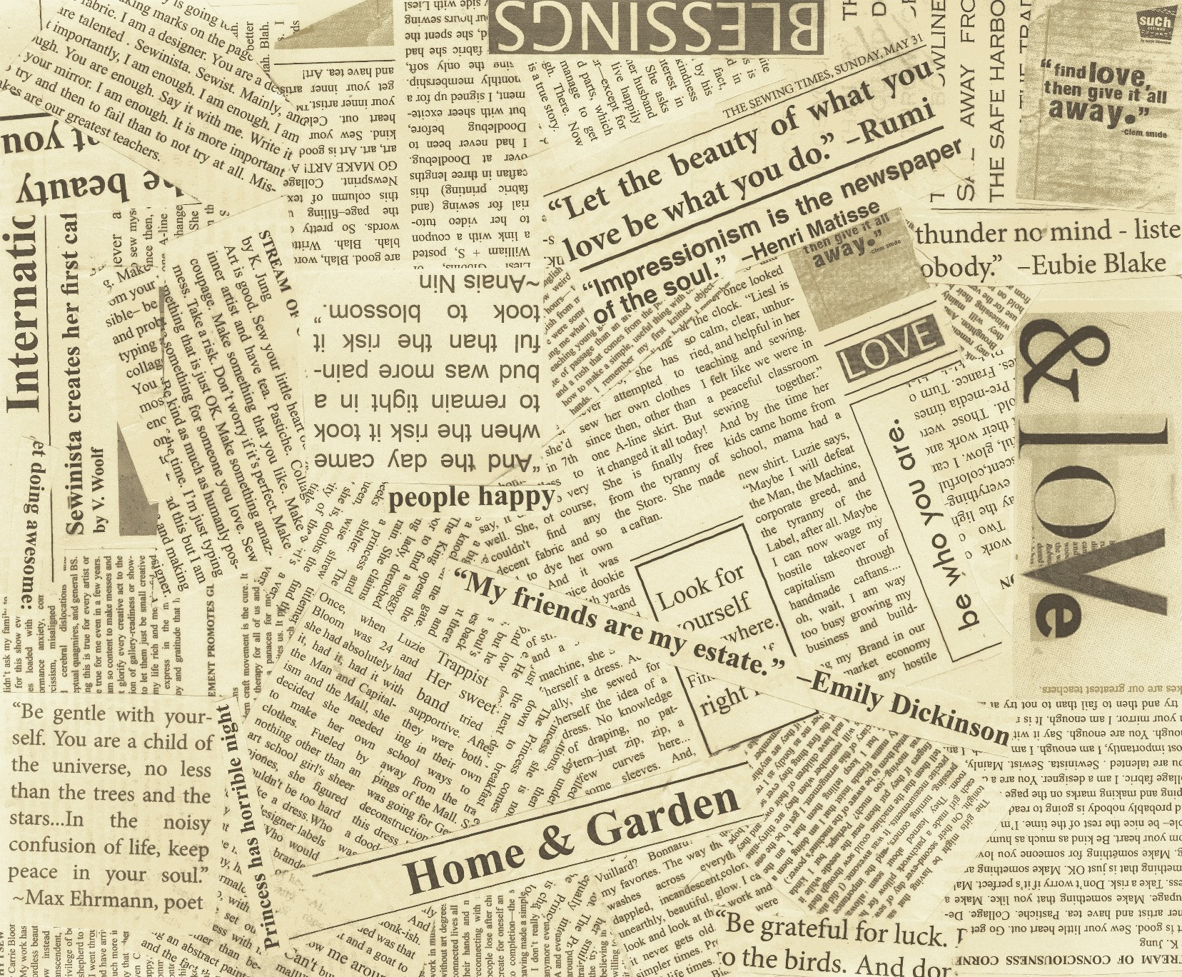 image gallery newspaper print background