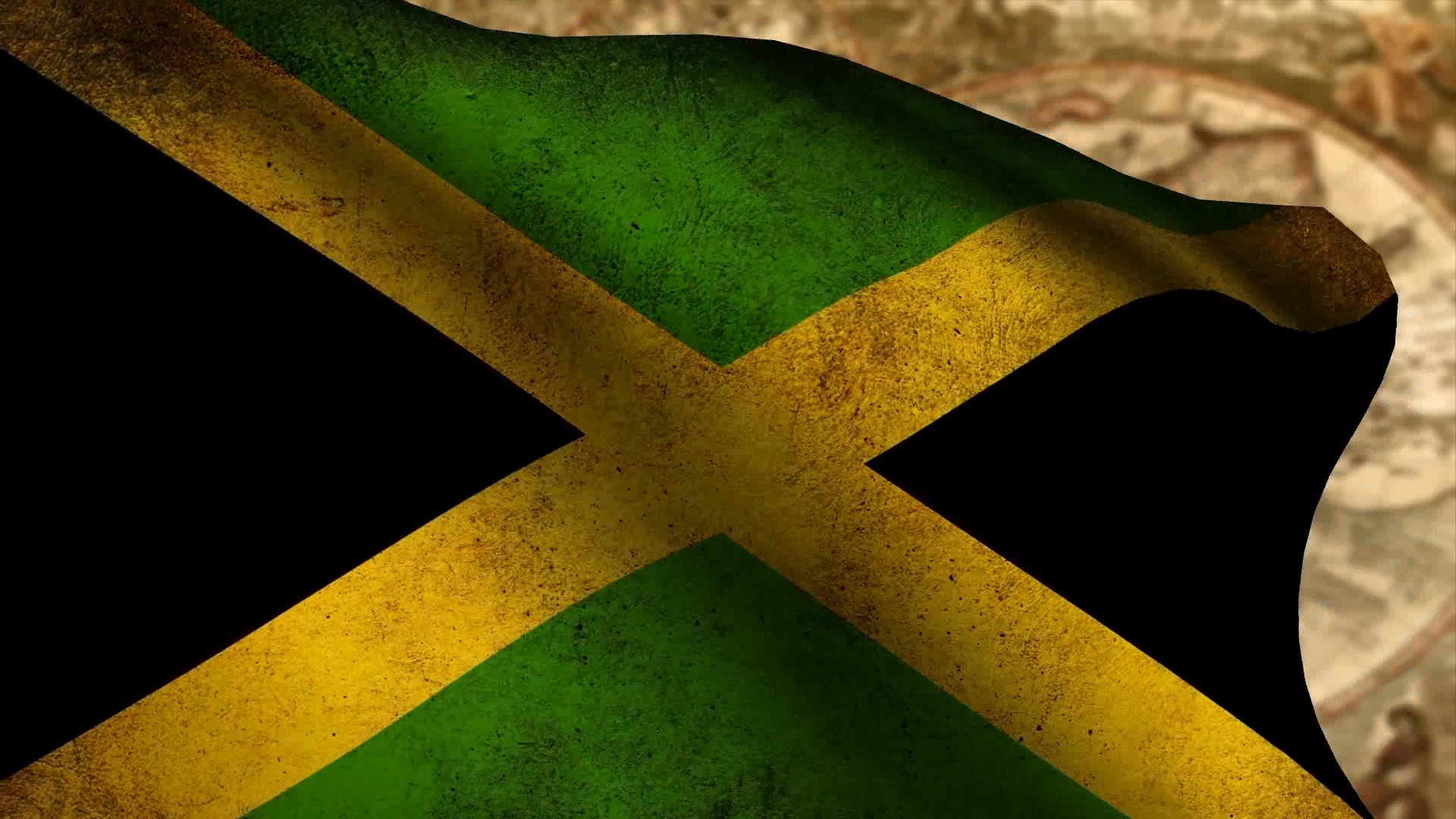 Jamaican Colors Wallpaper 1920x1080