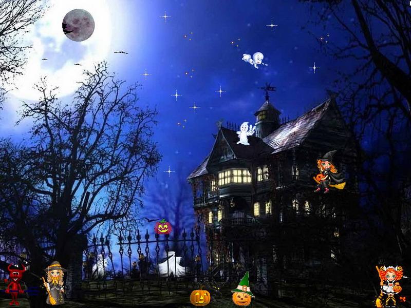 Happy Halloween Screensaver celebrate Happy Halloween with your 800x600