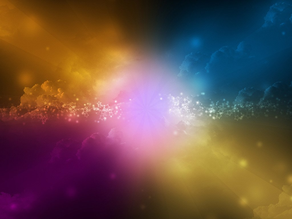 Bright Star wallpaper colorful desktop background Abstract 1024x768