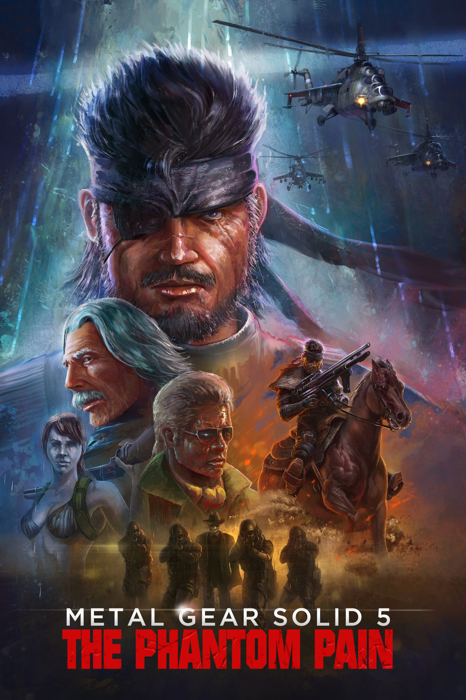 MGS 5 the VHS cover by TylerEdlinArt 1600x2401