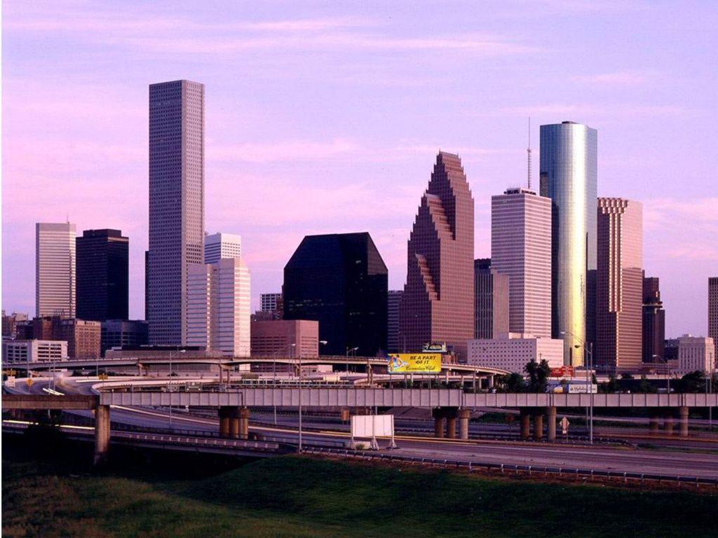 Houston Skyline Wallpaper Hd Wallpapersafari