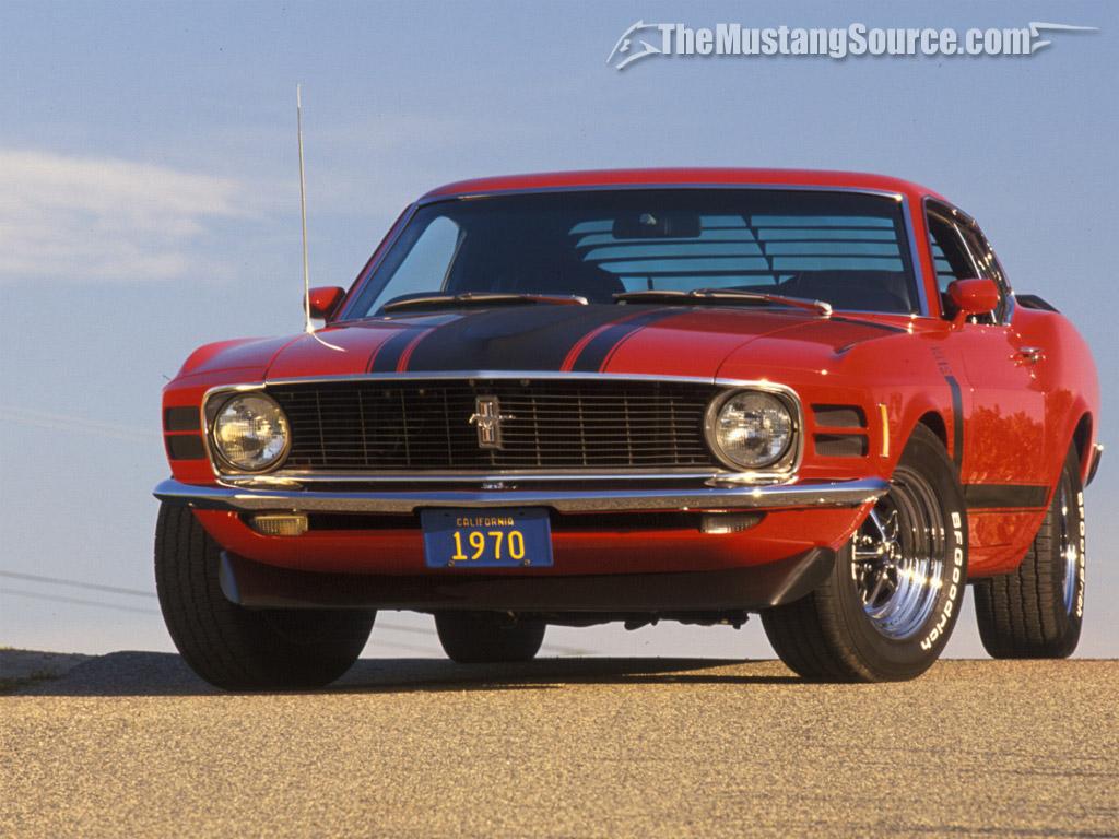 Mustang 69 Wallpaper 1024x768