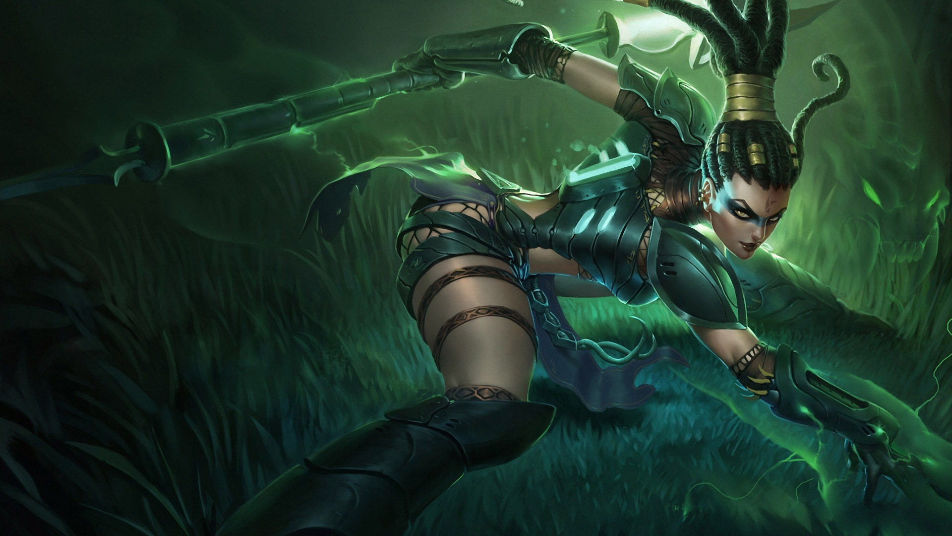 Nidalee   League of Legends HD Wallpaper 1920x1080 1920x1080
