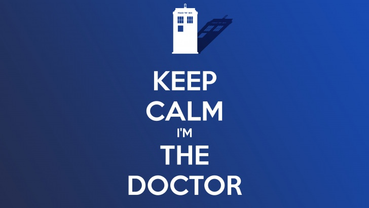 Keep Calm Im The Doctor Wallpaper   Quotes HD Wallpapers 728x410