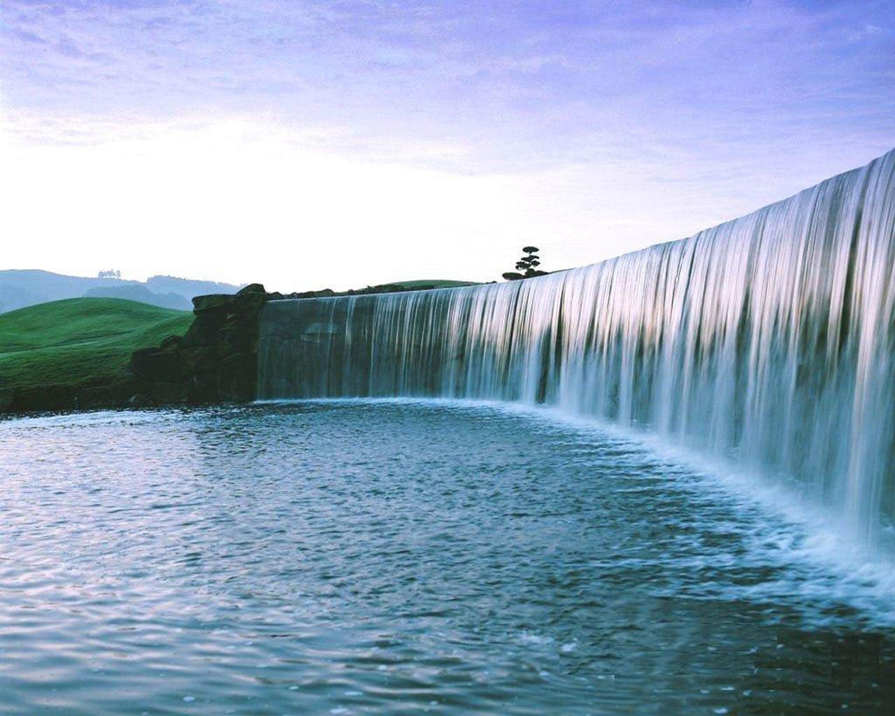 Nature Desktop Backgrounds Waterfall 1280x1024