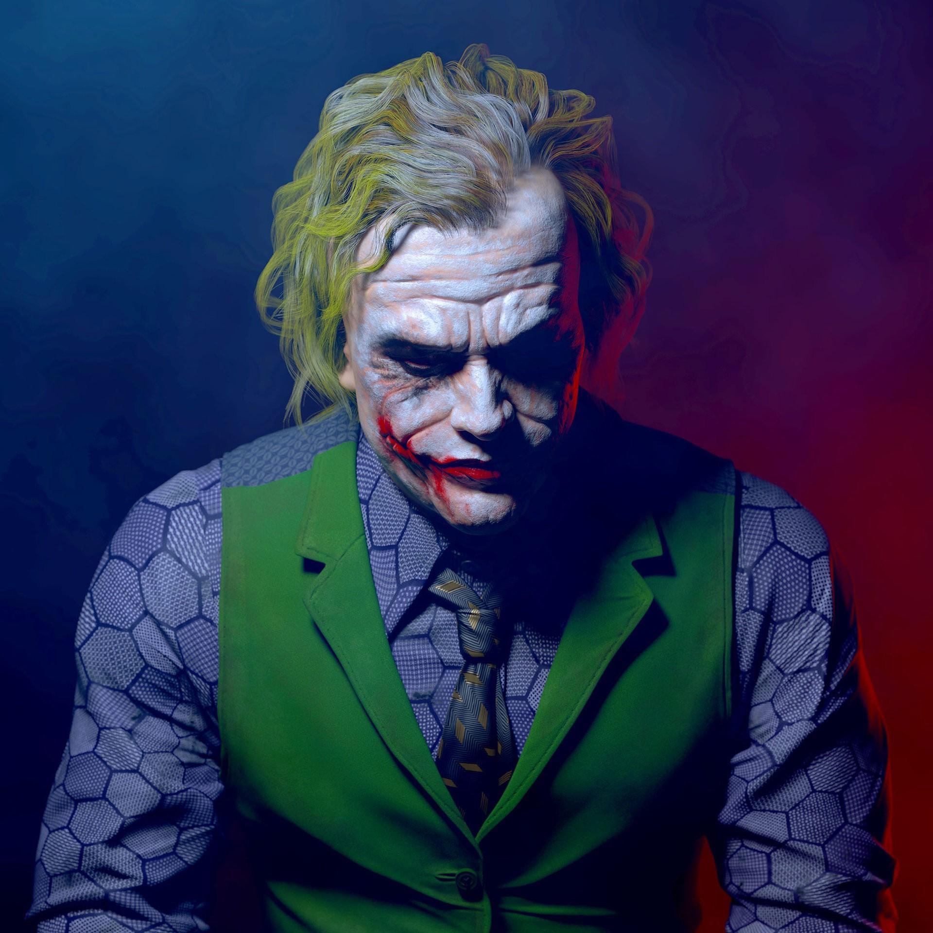 Joker Batman Heath Ledger Wallpapers HD Desktop and 1920x1920