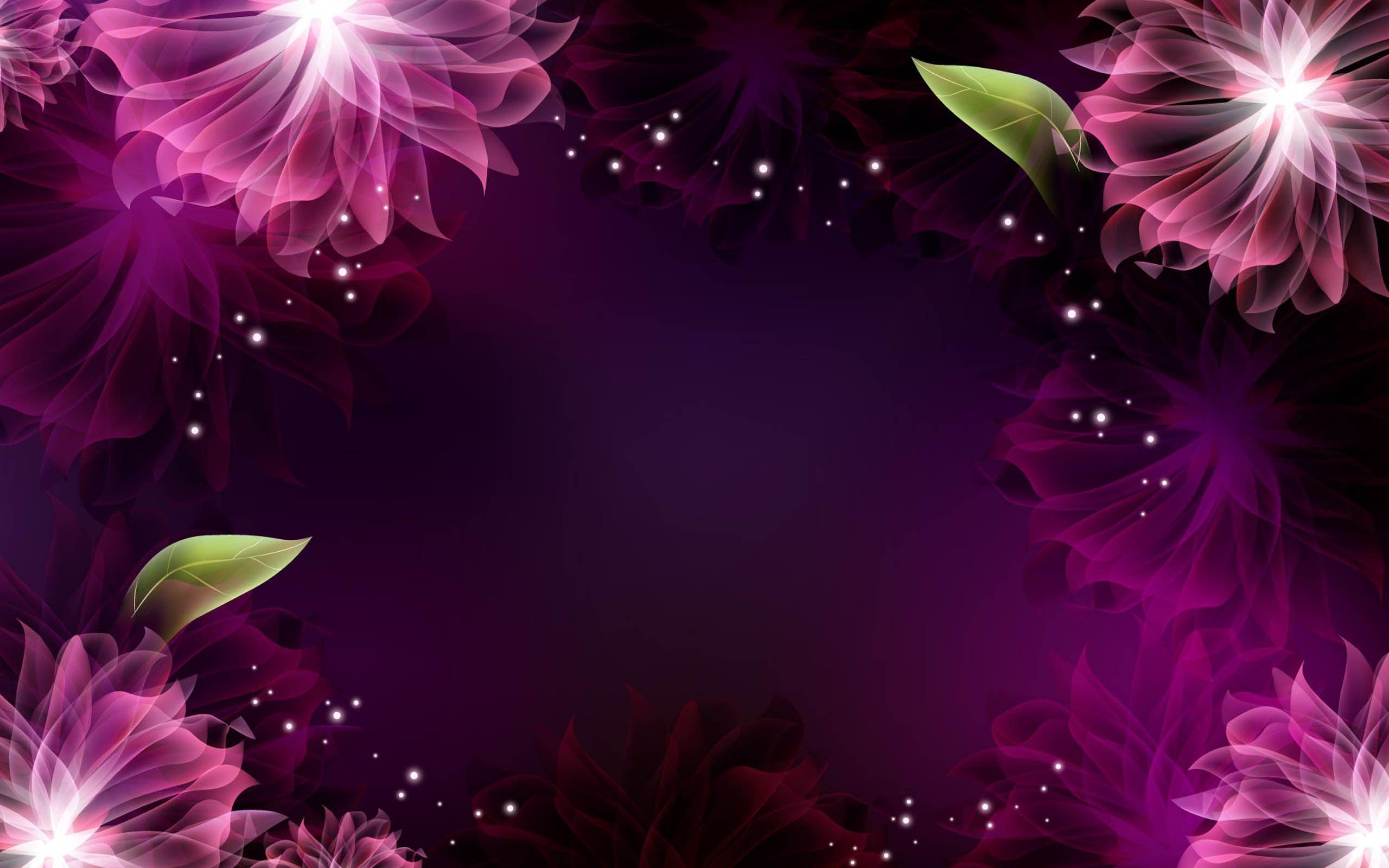 Purple Flowers Wallpapers 2560x1600