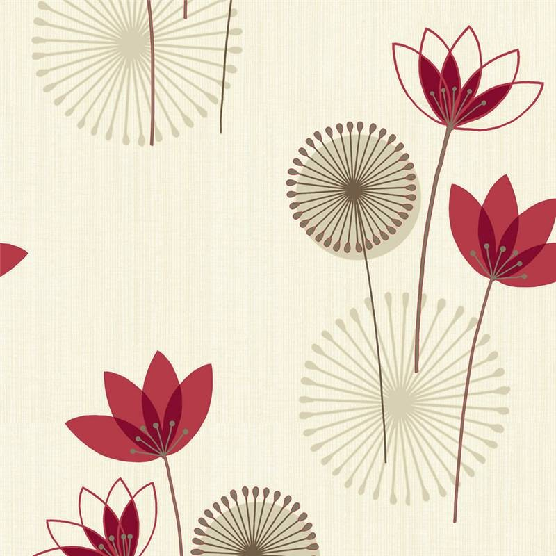 Red and cream wallpaper wallpapersafari - Red brown and cream wallpaper ...