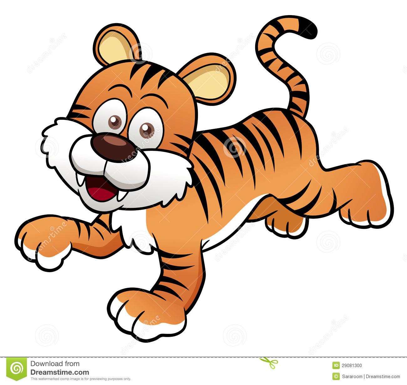 Tiger Images Cartoon   Desktop Backgrounds 1300x1228