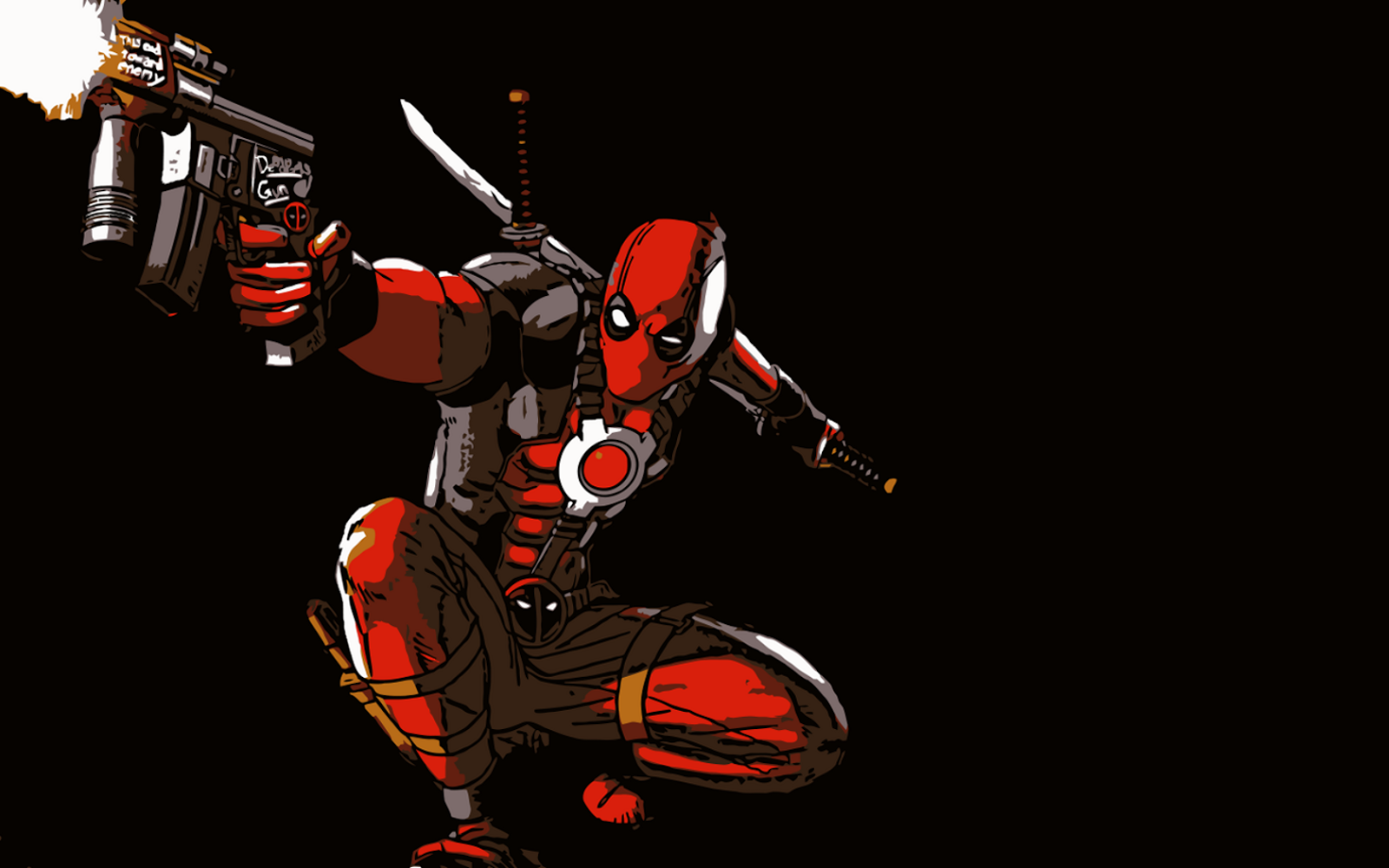 Top Cool Deadpool Wallpaper Images for Pinterest 1600x1000