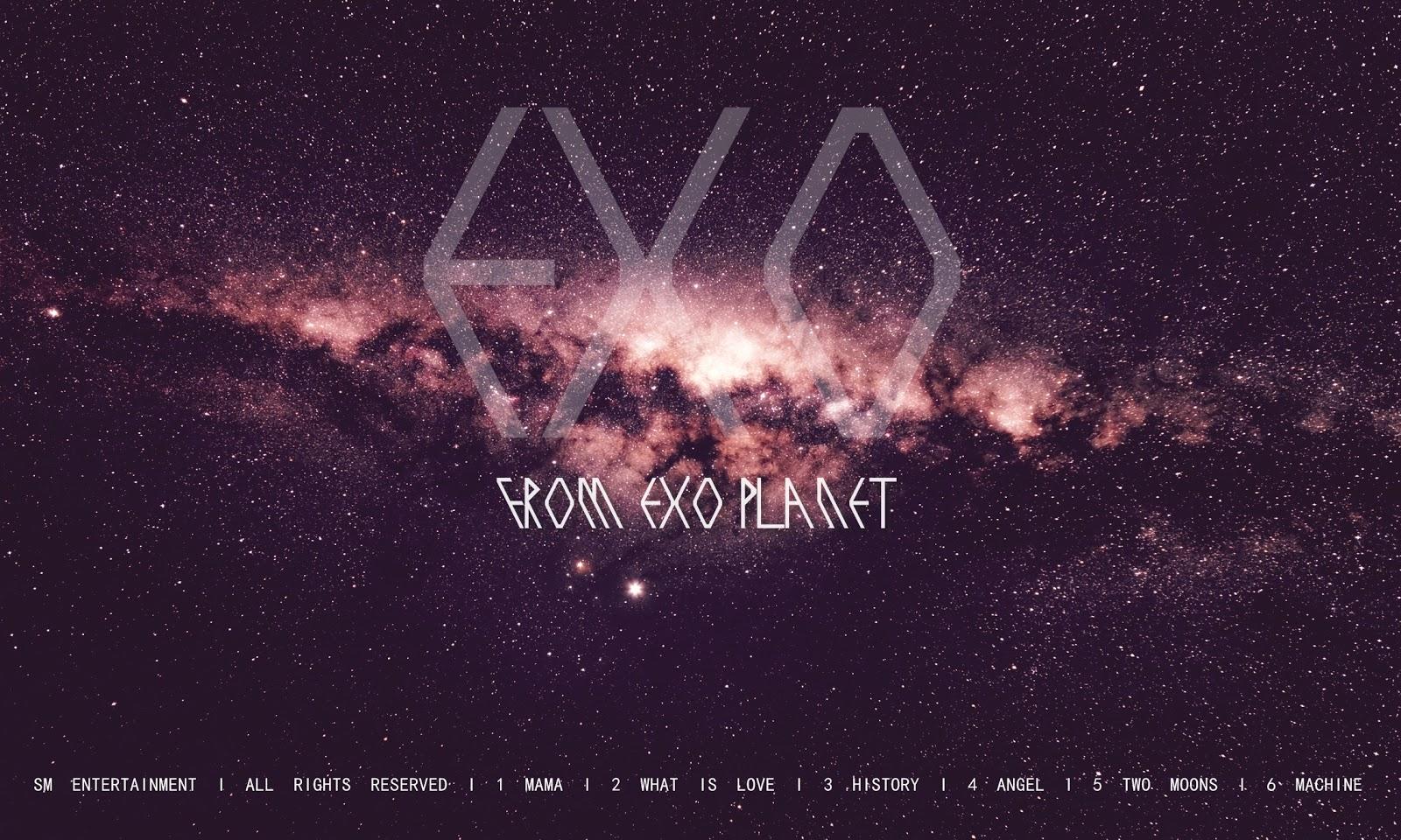 Back Gallery For exo logo wallpaper 1600x960