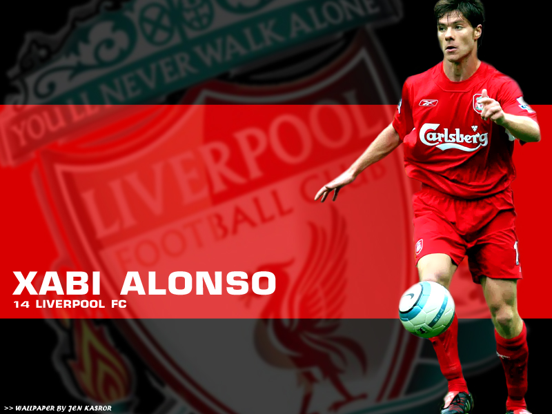 Xabi Alonso Liverpool Best Player Manchester United Wallpaper For 800x600