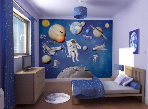Cool Blue Boys Bedrooms Offer Masculine Decor for Boys Nice Boys 600x444