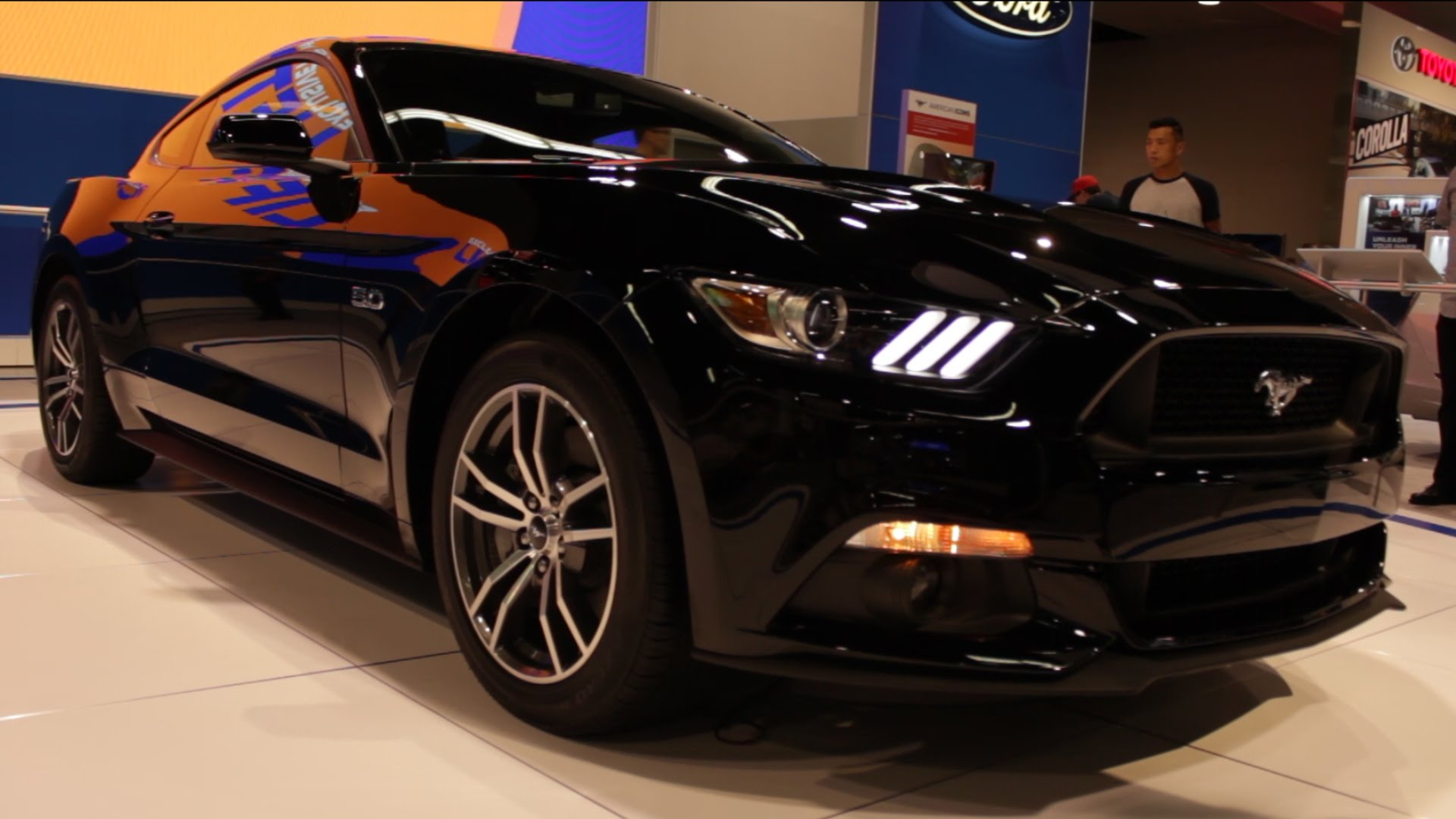 2015 Ford Mustang GT Black   OC Auto Show 2014 1920x1080