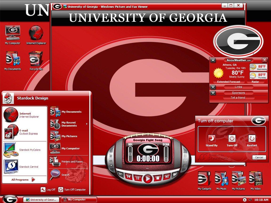 Georgia Football Desktop Wallpaper - WallpaperSafari