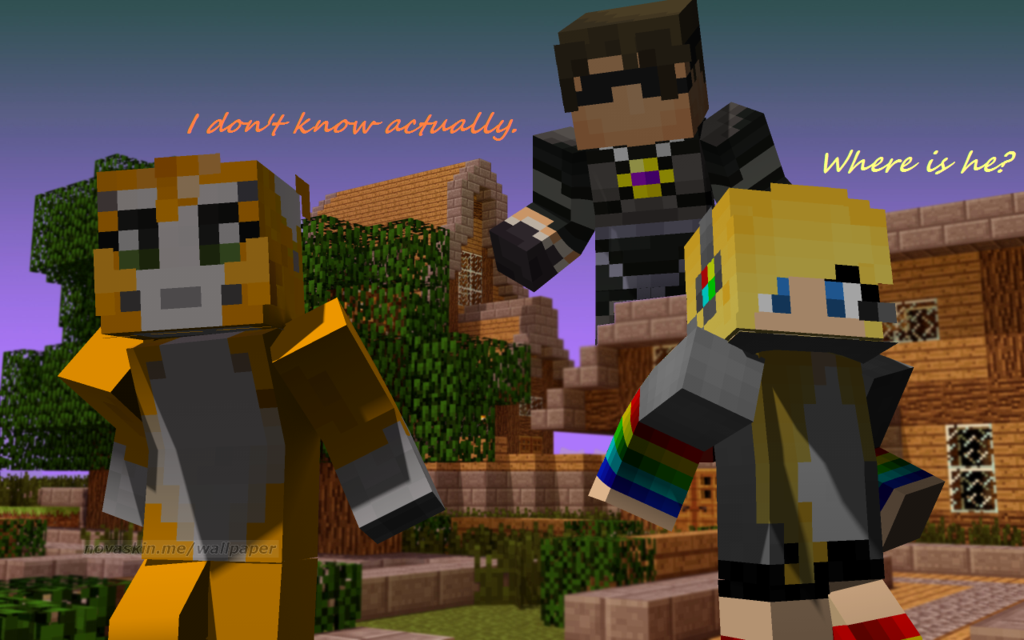 Where Is He Minecraft 13 By CathyDirkStriders 1024x640