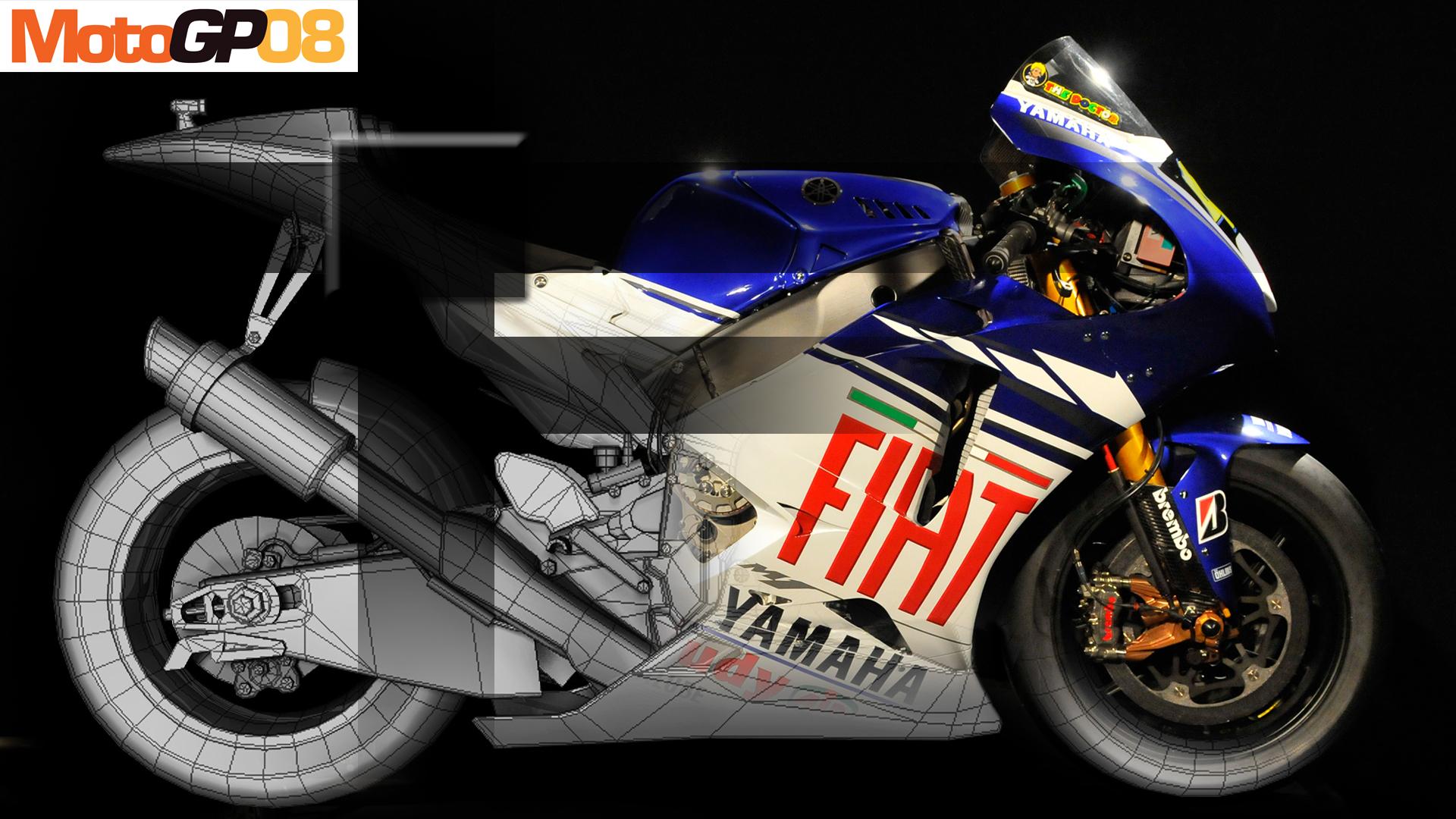 Moto gp game background bike 1214 1920x1080